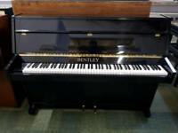 **REDUCED**THE LITTLE PIANO STORE** BENTLEY HIGH GLOSS BLACK UPRIGHT PIANO