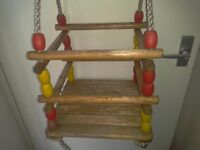 Baby, toddlers, childs outside garden swing, strong and sturdy