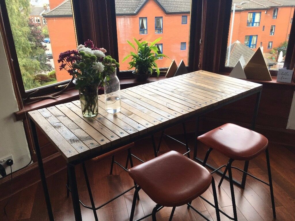 Bespoke Dining Table + 4 x Free Stools