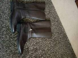 John Lewis leather Boots