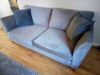 for sale 2pce suite as new has to be seen in grey fabric