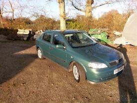 Vauxhall astra 1.8 47k full history