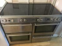 Fully working belling range cooker