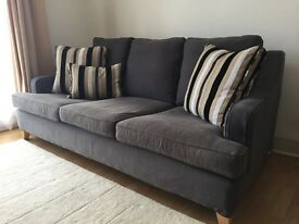 Multiyork 'Long Island' large sofa, removable/replaceable cover