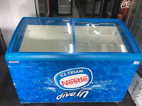 Ice Cream / Shop Display Freezer - 1.3 Meter Wide- Used IN VERY GOOD CONDITION- walls