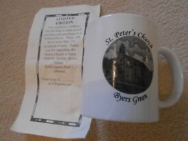 ST PETER'S CHURCH, BYERS GREEN - LIMITED EDITION MUG