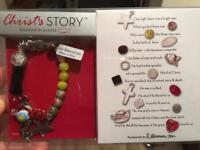 Christ's Story beaded bracelet