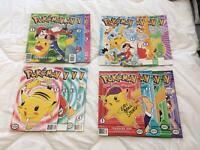 Pokemon Manga complete and signed by Veronica Taylor and Eric Stuart