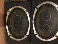 Vibe blackair 6x9 speakers in boxes good condition 525 watts