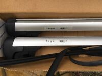 VW Touran silver roof bars (2005 onwards)