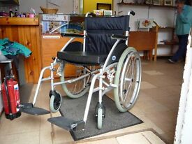 Wheelchair, aluminium, Self-propelled, Made by Days. Model: Swift 46SP