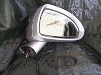 drivers side mirror for Vauxhall Corsa D