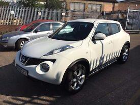 NISSAN JUKE ACENTA 16V WHITE 2012 1.6 PETROL CHEAPEST 12PLATE IN THE UK!!