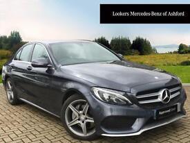 Mercedes-Benz C Class C250 BLUETEC AMG LINE PREMIUM (grey) 2014-10-09