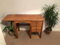 Golden Oak Vintage Desk