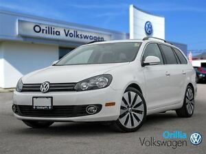 2013 Volkswagen Golf Wagon Panoramic Sunroof,Push button Start,