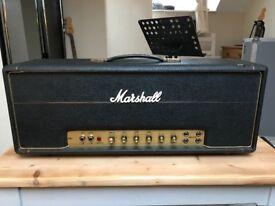 Marshall 1972 JMP 50 Head Model 1987 - Vintage, like Plexi