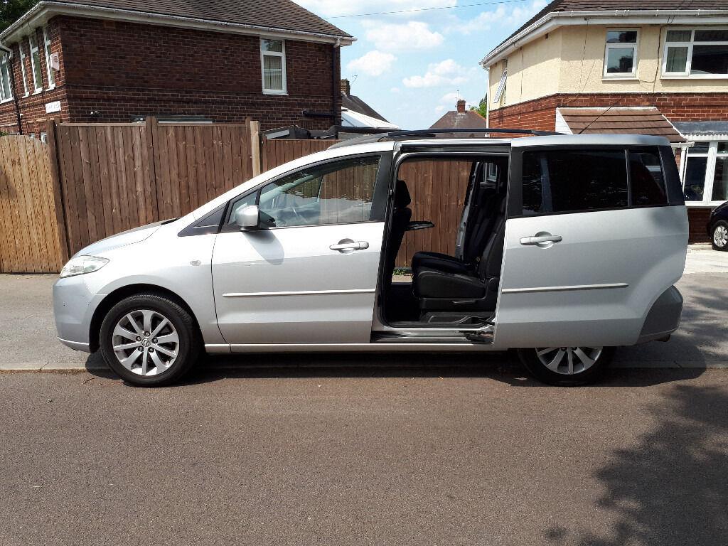 2006 06 Reg Mazda 5ts2 1 8 Mpv 7 Seater Rear Sliding Doors
