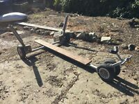 Heavy Duty Boat Launching Trailer for up to approximately 13' boat