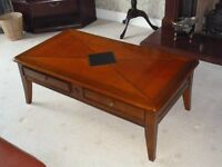 Quality cherrywood coffee table