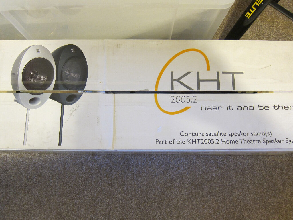 kef speaker stands for the kht speakers x silver good kef speaker stands for the kht 2005 2 speakers 4x silver good condition