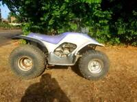 Yamaha breeze 125 quad bike 4 stroke