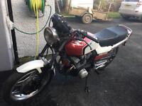 1982 Honda CBX550f2 restoration project