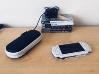 PSP Slim 3003 + 5 Games + Charger