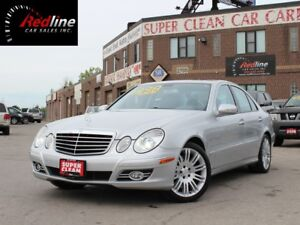 2007 Mercedes-Benz E-Class E550 V8 4Matic Navi-Sunroof-Push Star