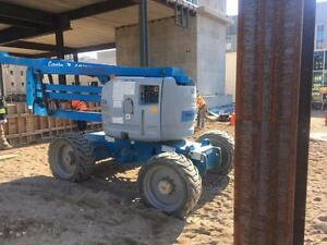 Storey's Melrose Contracting Online Auction - Closes July 25th - SkyJack 35' All Terrain Duel Fuel Scissor Lift