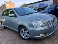 TOYOTA AVENSIS 2.0 T3-X AUTOMATIC 2005(55) 1 FORMER OWNER LOW MILEAGE FULL HISTORY