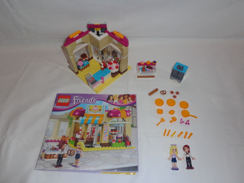 Lego friends downtown bakery with instruction manual - Ideal Christmas present