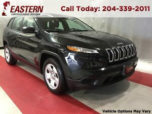 2016 Jeep Cherokee SPORT 4X4 2.4L ALLOY WHEELS  A/C CRUISE