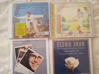 Elton John CD's