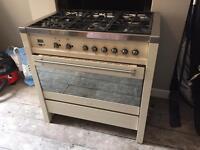 Smeg A1 Dual Fuel range cooker