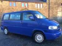 Required VW T4 Westfalia Multivan 2.5 Tdi 99 SWB Camper van like Caravelle Transporter T5 California