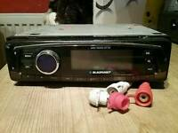 Blaupunkt car stereo cd player/radio