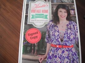Brand new, unopened hard back, signed copy of Kirstie Allsopp's Kirstie's Vintage Home