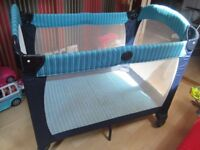 Graco Travel Cot with storage cover
