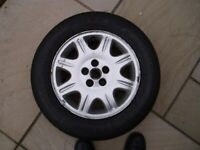 Dunlop Monza 200 195/65R15 91V Tyre ; never used, as-new condition (carried as spare)