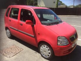 Reliable and economical Vauxhall agila