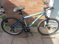 mens or teenagers Raleigh mountain bike 21speed 17inch frame £45.00 for sale