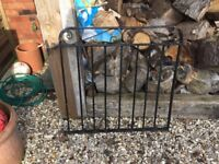 Used steel garden gate heavy duty