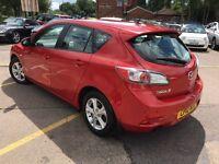 MAZDA 3 1.6 D TS Hatchback 5dr (red) 2012