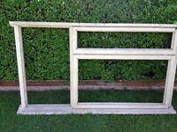 4 new window frames 1800mm x 1040 mm also various doors