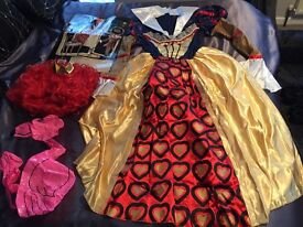 Alice in Wonderland Red Queen outfit