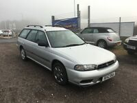 1998 Subaru Legacy 2.0 Mpi Estate 4WD 1 Owner From New!