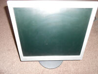"HP L1706 17"" Flat screen Monitor, good working order"
