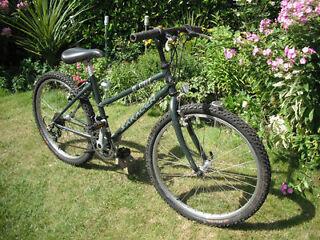 "Boys / Girls Saracen Rufftrax Mountain Bike -24""Wheels 21-Gears 15"" Frame"