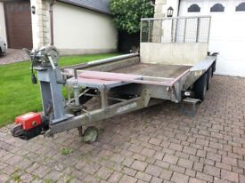 Ivor Williams GX106 Plant Trailer